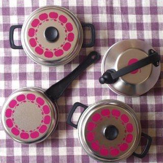 要出典 ブリキ おもちゃ SchopperKG社 おままごと ブリキのおもちゃ 鍋セット