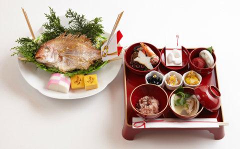 要出典 季膳味和 お食い初め料理セット 参 器付き