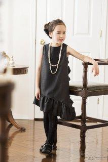 要出典 ピアノ 発表会 ドレス キャサリンコテージ 子供ドレス ラインシャンタンフリルドレス