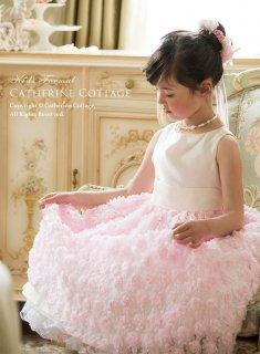 要出典 ピアノ 発表会 ドレス キャサリンコテージ フォーマル キッズドレス 巻き薔薇のドレス