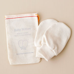 要出典 赤ちゃん ミトン 新生児 手袋 フォグリネンワーク ベビーミトン