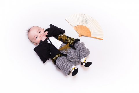 赤ちゃん 袴 男の子