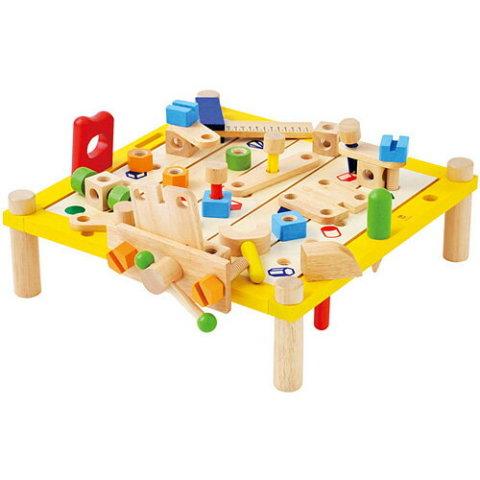 要出典 3歳 知育玩具 アイムトイ カーペンターテーブル