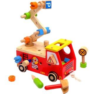 要出典 2歳 知育玩具 エデュテ アクティブ消防車