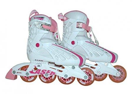 要出典 ローラースケート 子供 東方興産 サイズアジャスタブル・インラインスケート ピンク