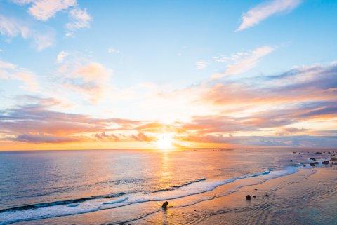 日の出 朝日