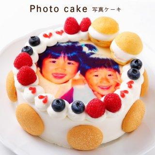 要出典 写真ケーキ リーフ 世界に1つだけの写真ケーキ