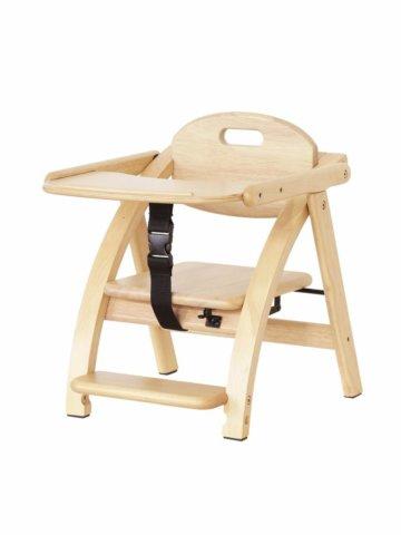 要出典 離乳食 椅子 大和屋 アーチ木製ローチェアIII
