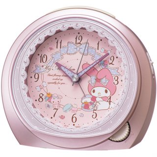 要出典 目覚まし時計 子供用 セイコー クロック 目覚まし時計 マイメロディ
