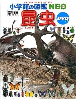 要出典 昆虫図鑑 DVD付 新版 昆虫(小学館の図鑑 NEO)
