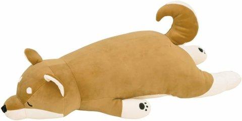 要出典 特大サイズ ぬいぐるみ プレミアムねむねむアニマルズ 柴犬のコタロウ