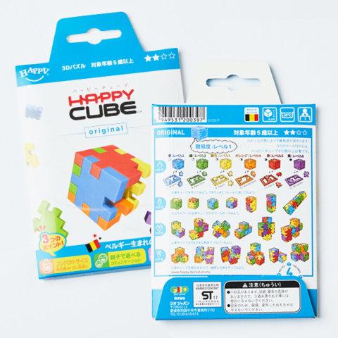 要出典 立体パズル ハッピーキューブ 6色セット