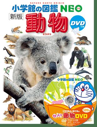 要出典 図鑑 子供向け 小学館の図鑑 NEO DVD付 新版 動物