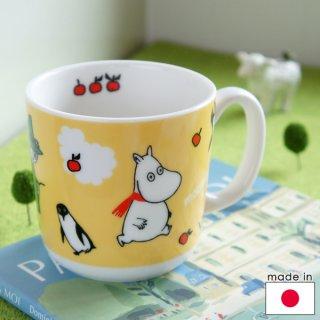 要出典 ムーミン 陶器の子供用マグカップ