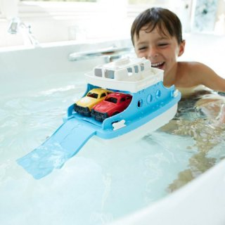 要出典 船 おもちゃ グリーントイズ フェリーボート ミニカー付き
