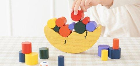 要出典 3歳 知育玩具 エド・インター お月さまバランスゲーム