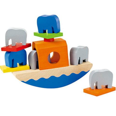 要出典 船のおもちゃ セレクタ バランスぞうさん