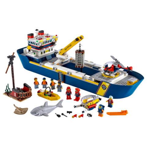 要出典 船のおもちゃ レゴ シティ 海の探検隊 海底探査船