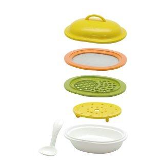 要出典  離乳食 グッズ エジソン 離乳食調理セット  離乳食作りから長く使える調理セット