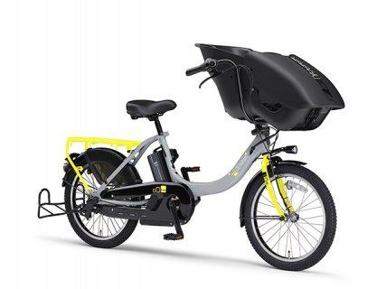 要出典 子供乗せ自転車 ヤマハ パスキスミニアン 2018年モデル 子供乗せ 電動自転車