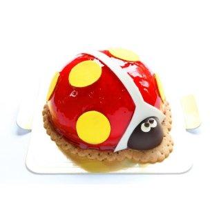 要出典 こどもの日 ケーキ お菓子 マリエ かわいいケーキ しあわせのてんとう虫