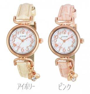 要出典 小学生 女の子 プレゼント パリスキッズ 腕時計 ハート チャーム