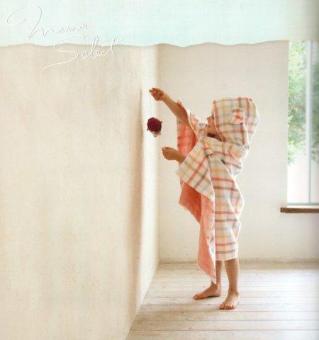 要出典 女の子 出産祝い コンテックス 出産祝い デュオ フード付きバスタオル ベビーバスローブ
