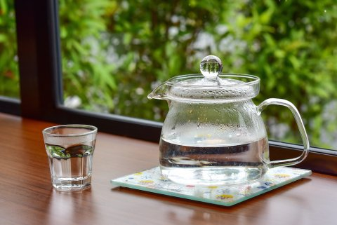 白湯 常温の水