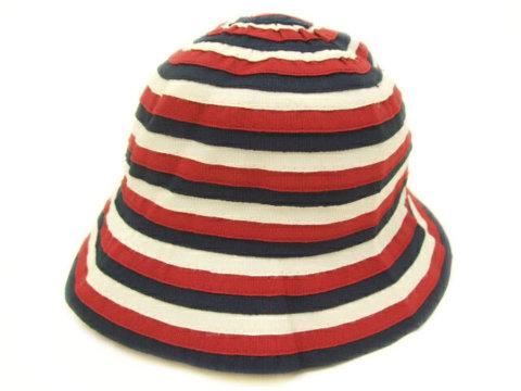 要出典 出産祝い ファミリア ベビー帽子 トリコロール