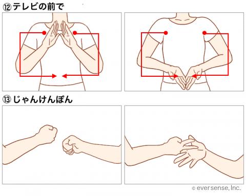 わらべうた 手遊び お寺の和尚さん
