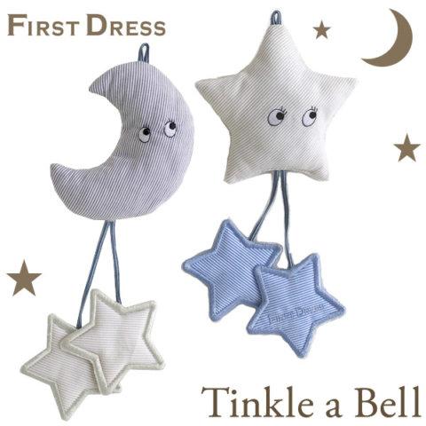 要出典 出産祝い 男の子 ファーストドレス ティンカーベル ベビーラトル