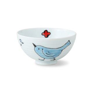 要出典 子供 茶碗 波佐見焼 ことり 姫茶碗 子供用食器