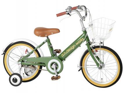 要出典  5歳 男の子 プレゼント a.n.design works v18 自転車 子供用 18インチ
