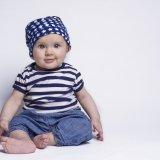 赤ちゃん セパレート服 お座り 男の子