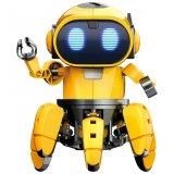 要出典 ロボット おもちゃ エレキット ロボット工作キット フォロ 赤外線レーダー搭載6足歩行ロボット MR-9107