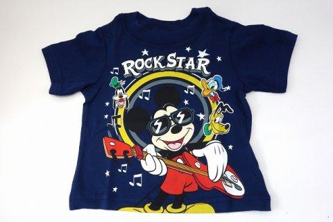要出典 ディズニー ベビー服 チルドレンズプレイス ディズニー ミッキー ロックスター 半袖Tシャツ