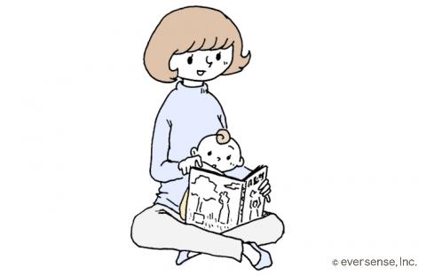 絵本の読み聞かせ