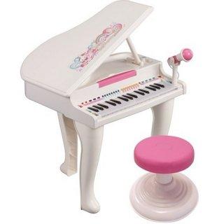 要出典  子供 キーボード 光る鍵盤 マジカルメロディグランドピアノ デラックス
