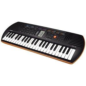 要出典 子供 キーボード カシオ 電子ミニキーボード 44ミニ鍵盤 SA-76