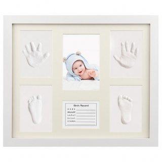 要出典 赤ちゃん 手形 足型 iSiLER 手形 足形 フォトフレーム 置き掛け兼用