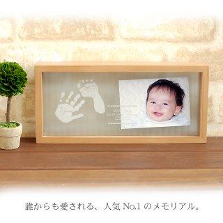 要出典 赤ちゃん 手形 足型 手形 ちあき工房 国産ヒノキ材 手形 足形キット付 日本製のメモリアルスタンド