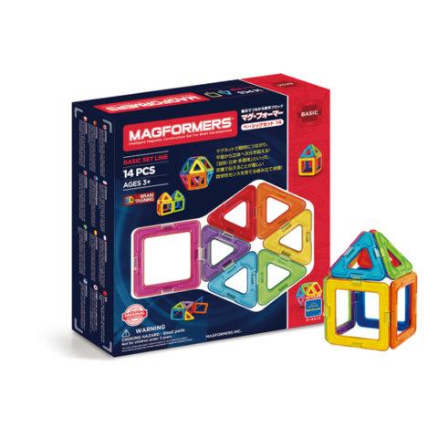 要出典 ブロック おもちゃ ボーネルンド マグフォーマー ベーシック14ピース