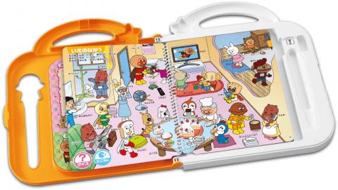要出典 英語 おもちゃ 英語を学べるおもちゃ セガトイズ アンパンマン にほんご えいご ことばを育む おしゃべりいっぱい!NEWことばずかんDX
