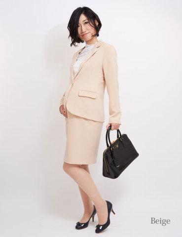 要出典 マタニティスーツ スウィートマミー マタニティ スーツ ジャケット スカート セット