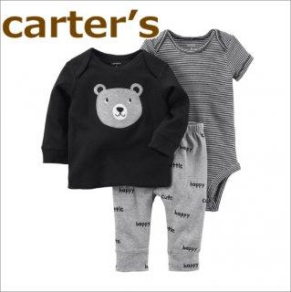 要出典 出産祝い 嬉しかったもの カーターズ 長袖Tシャツ+半袖ボディスーツ+パンツ3点セット