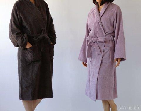 要出典 ママのバスローブ バスリエ サッと着られるバスローブ