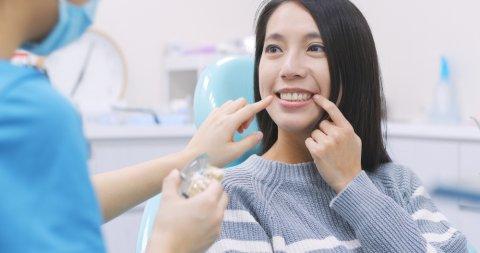日本人 女性 歯医者 歯科