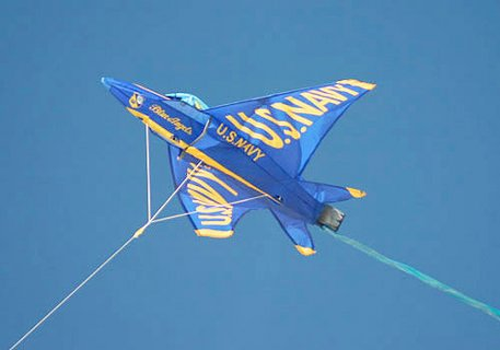 U.S.NAVY ブルーエンジェルス 3Dカイト 凧