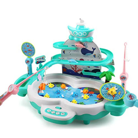 要出典 魚釣り おもちゃ Cute stone 2in1魚釣りゲーム