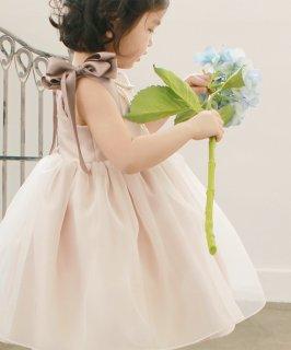 要出典 べビードレス 赤ちゃん ヘラゴールドピンクドレス